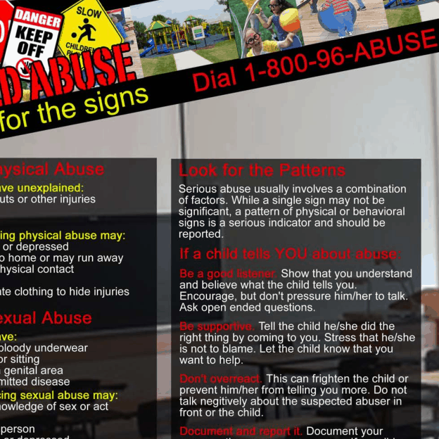 Child Abuse Signs