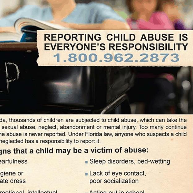 Reporting Abuse English